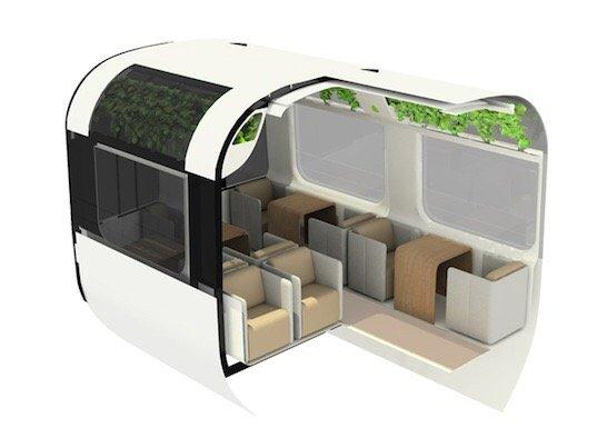 รถไฟที่ใช้เทคโนโลยีจากNASA เพื่อสร้างอากาศบริสุทธิ์แบบธรรมชาติภายในรถ 15 - NASA