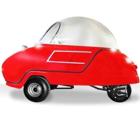 Peel P50 รถไฟฟ้าที่เล็กและน่ารักที่สุดในโลก! 5 - Car