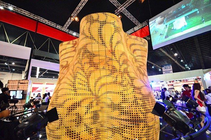 IMG 3172 ทำได้ไง? 3D Printing ซีเมนต์ใหญ่ที่สุดในโลก!! นวัตกรรมใหม่ที่บูธ SCG ในงานสถาปนิก 58