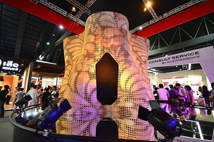 """ทำได้ไง? """"3D Printing ซีเมนต์ใหญ่ที่สุดในโลก!!"""" นวัตกรรมใหม่ที่บูธ SCG ในงานสถาปนิก 58 17 - SCG (เอสซีจี)"""