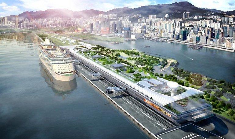 Kai Tak Cruise Terminal เปลี่ยนโฉมสนามบินเก่าให้กลายเป็นท่าเรืออันงดงามบนเกาะฮ่องกง 14 - airport