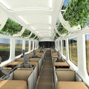 รถไฟที่ใช้เทคโนโลยีจากNASA เพื่อสร้างอากาศบริสุทธิ์แบบธรรมชาติภายในรถ 17 - NASA