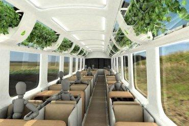 รถไฟที่ใช้เทคโนโลยีจากNASA เพื่อสร้างอากาศบริสุทธิ์แบบธรรมชาติภายในรถ 16 - train