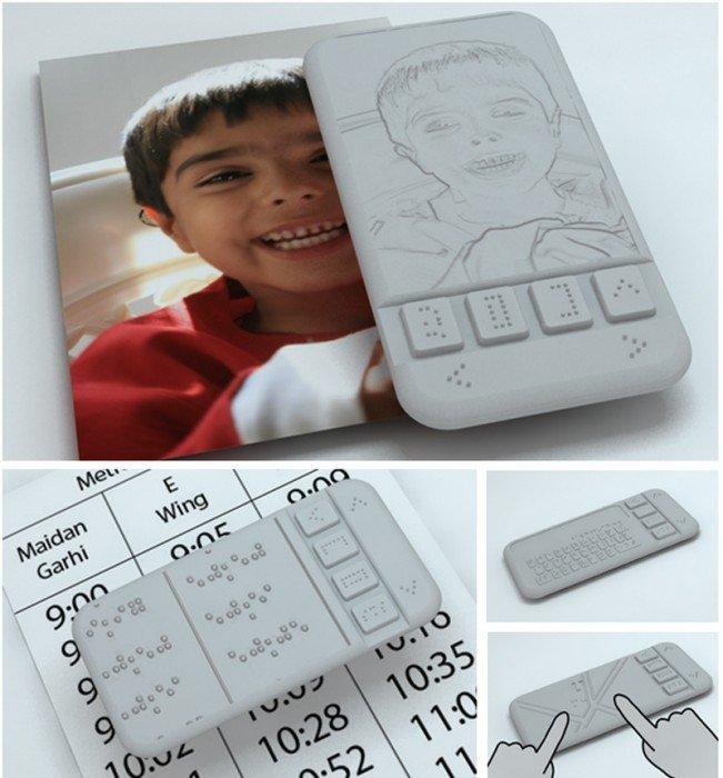 นวัตกรรมคนตาบอด Braille Phone สมาร์ตโฟนเครื่องแรกสำหรับผู้พิการทางสายตา จะได้ใช้จริงหรือไม่ลองชม 13 - Affordable Braille phone