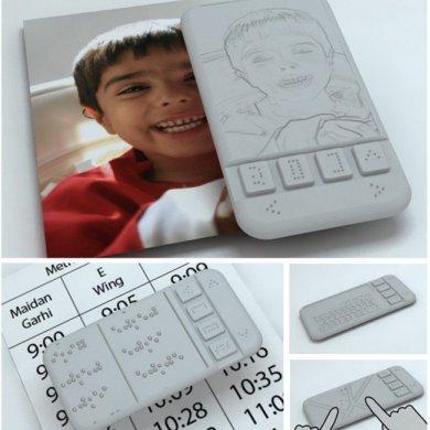 นวัตกรรมคนตาบอด Braille Phone สมาร์ตโฟนเครื่องแรกสำหรับผู้พิการทางสายตา จะได้ใช้จริงหรือไม่ลองชม 16 - Affordable Braille phone