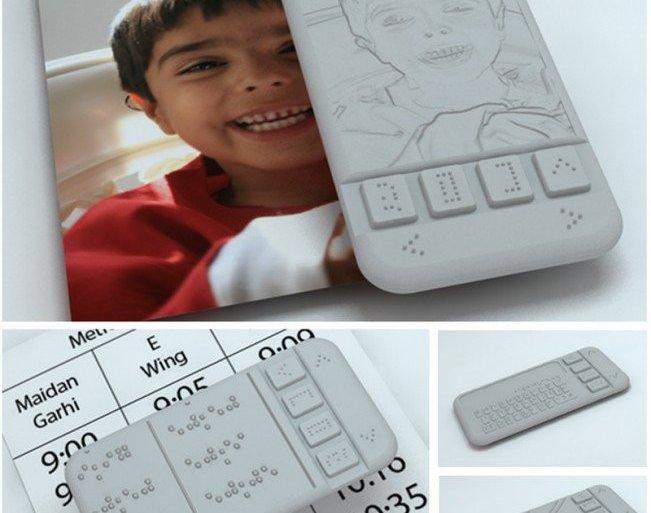 นวัตกรรมคนตาบอด Braille Phone สมาร์ตโฟนเครื่องแรกสำหรับผู้พิการทางสายตา จะได้ใช้จริงหรือไม่ลองชม 23 - technology