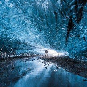 Northern Lights Ice Cave in Iceland ถ้ำน้ำแข็งที่ไม่มีวันละลาย 16 - Ice cave