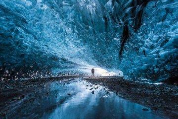 Northern Lights Ice Cave in Iceland ถ้ำน้ำแข็งที่ไม่มีวันละลาย 2 - Iceland