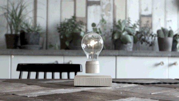 FLYTE หลอดไฟลอยได้!..ใช้พลังงานจากสนามแม่เหล็ก 20 - electromagnetic