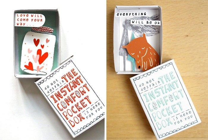ไอเดียกล่องส่งสารจากใจ ทำจากกล่องไม้ขีดเล็กๆ..มอบความสุขให้ผู้รับ 23 - Art & Design