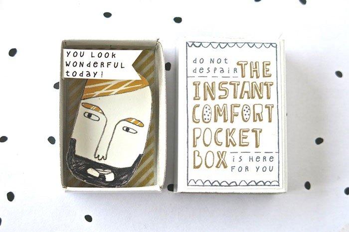 ไอเดียกล่องส่งสารจากใจ ทำจากกล่องไม้ขีดเล็กๆ..มอบความสุขให้ผู้รับ 24 - Art & Design