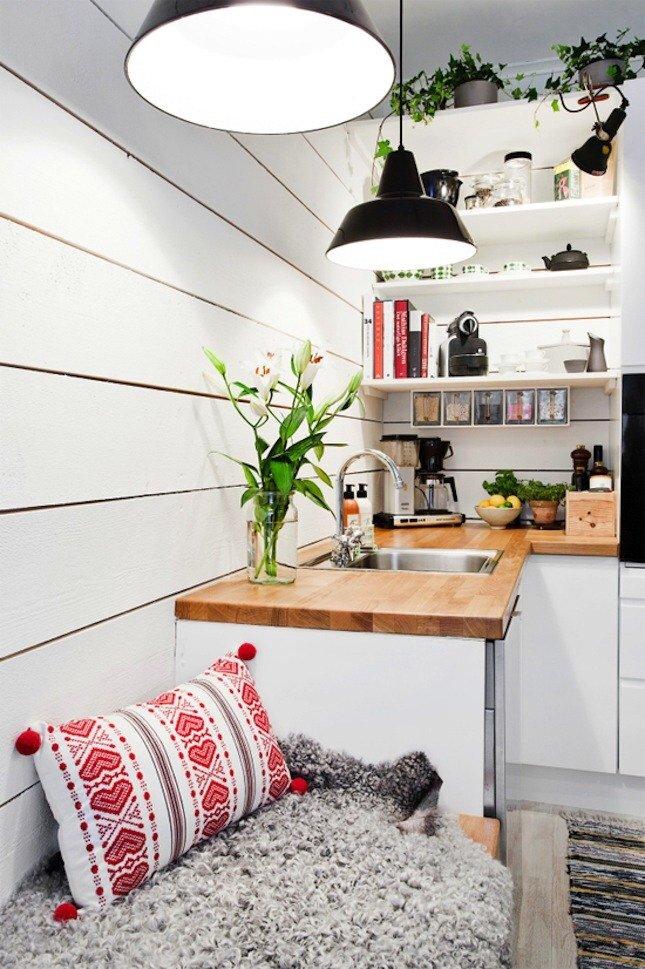6 ไอเดียตกแต่งครัว ที่จะทำให้ครัวเล็กๆ กว้างขึ้น และยิ่งใหญ่ในบ้าน 17 - idea