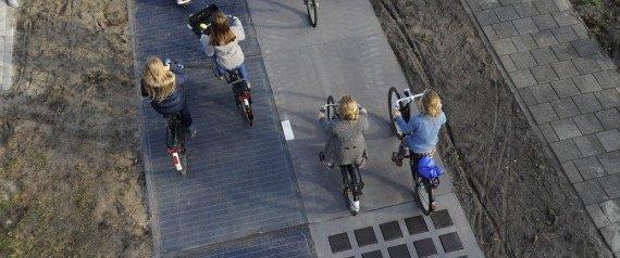 อนาคตเลนจักรยานอยู่ร่วมกับถนน..ใช้ผลิตพลังงาน ศึกษาแล้วคุ้มกว่าที่คาด 22 - จักรยาน