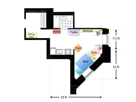 ตกแต่งบ้านพื้นที่เล็กเพียง 32 ตรม. ให้ดูดีด้วยเคล็ดลับ 3 ข้อ ที่คุณทำเองก็ได้ 16 - Apartment