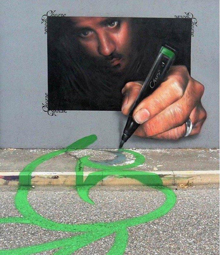Street Art ที่สร้างเรื่องราวกับสิ่งแวดล้อมได้อย่างสนุก..กระแทกสายตา 15 - Interactive