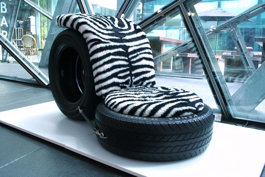 ไอเดีย reuse ยางรถยนต์เก่า ให้ได้ประโยชน์ใหม่ๆ..มากมาย 34 - old tire