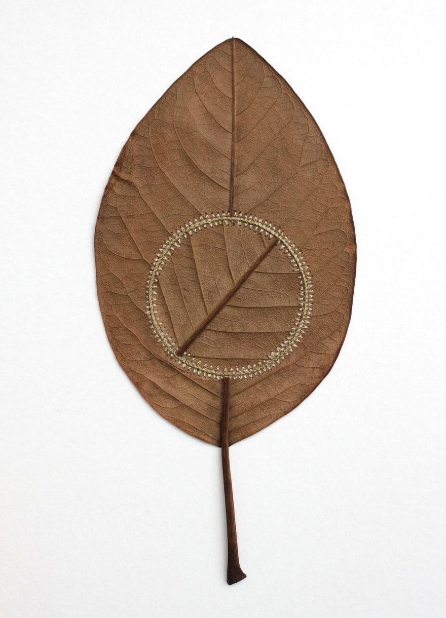 ศิลปะการถักทอ บนใบไม้.. สมดุลระหว่างความบอบบาง และแข็งแกร่ง 28 - Art & Design