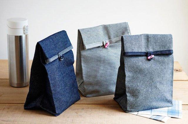 DIY: ถุงผ้าใส่กล่องอาหารกลางวัน 27 - อาหาร