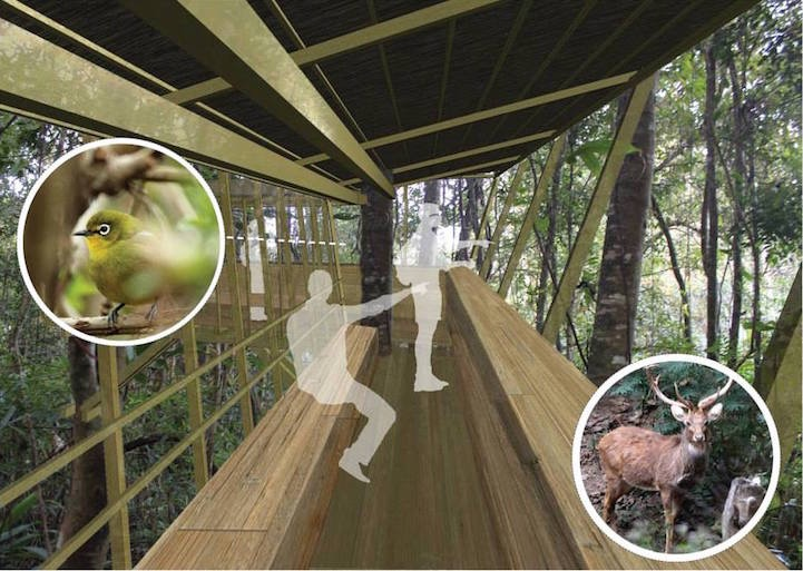 ที่พัก กลมกลืนกับผืนป่าในเขตอนุรักษ์ความหลากหลายทางชีวภาพในลาว 19 - bamboo