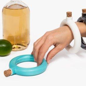 ขวดใส่เครื่องดื่ม.. แล้วใส่เป็นกำไลข้อมือ.. 15 - ceramic
