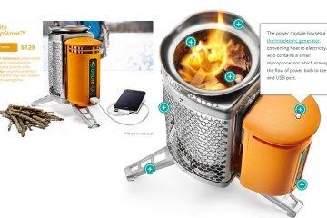Biolite Home Stove เตาทำอาหาร แปรความร้อนจากเศษไม้ เป็นกระแสไฟฟ้า 2 - BioLite