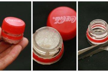 DIY : ตลับลิปบาล์มจากขวดโค้ก 20 - 500 Share+
