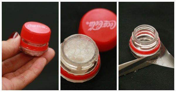 DIY : ตลับลิปบาล์มจากขวดโค้ก 22 - 500 Share+