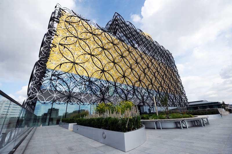 The Library of Birmingham 4 Library of Birmingham ห้องสมุดที่ใหญ่ที่สุดในยุโรป