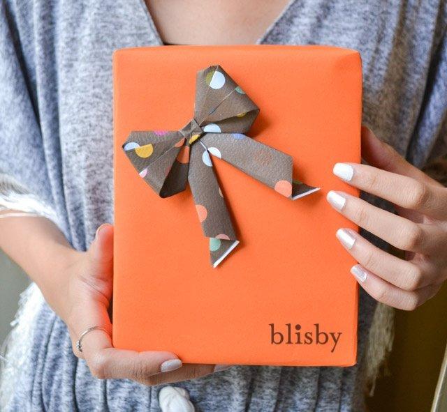 DIY : โบกระดาษ สำหรับทุกเทศกาล 12 - Bow