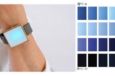 """""""time of the sky II"""" นาฬิกาบอกเวลา โดยสีของท้องฟ้า 13 - colors"""