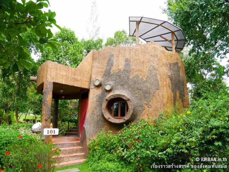 ชีวิตในโพรงไม้ ติดเขา บ้านขอนไม้ @Theerama Cottage สวนผึ้งรีสอร์ท 16 - 100 Share+