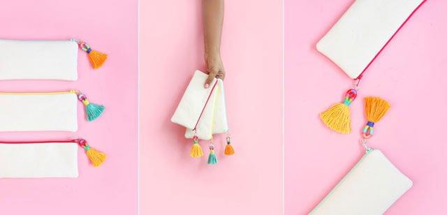 DIY : พู่ห้อยสีสดใส 13 - embroidery floss