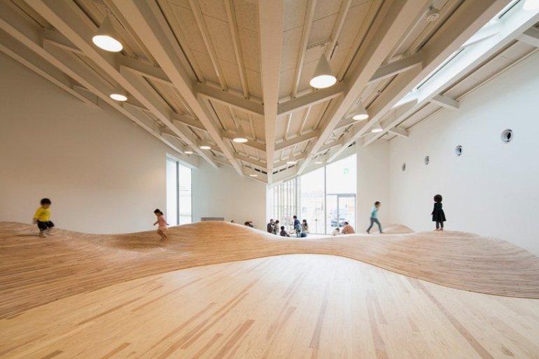 สนามเด็กเล่น Indoor งานออกแบบเพื่อเด็กๆ สำหรับฤดูหนาวในประเทศญี่ปุ่น 13 - Art & Design
