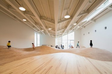 สนามเด็กเล่น Indoor งานออกแบบเพื่อเด็กๆ สำหรับฤดูหนาวในประเทศญี่ปุ่น 20 - interior