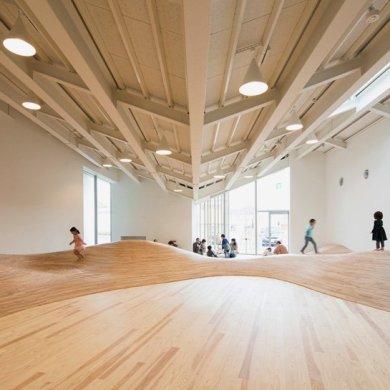 สนามเด็กเล่น Indoor งานออกแบบเพื่อเด็กๆ สำหรับฤดูหนาวในประเทศญี่ปุ่น 16 - Art & Design