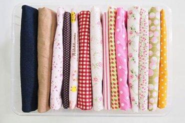 DIY : จัดเก็บผ้าผืนสวยสไตล์คมมาริ (KonMari) 16 - DIY