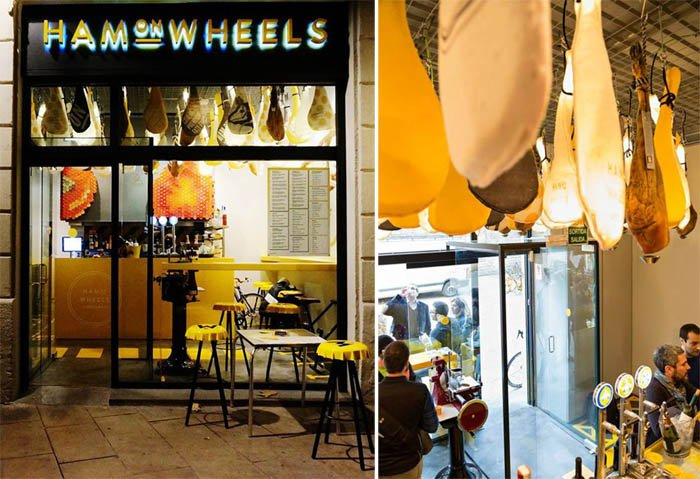 www1 Ham On Wheels Restaurant ร้านฟาสต์ฟู้ดสำหรับเหล่านักปั่น