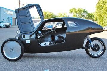 Raht Racer จักรยานที่วิ่งได้เร็วเท่ารถยนต์..ยังกะ Iron Man.. 2 - electric car