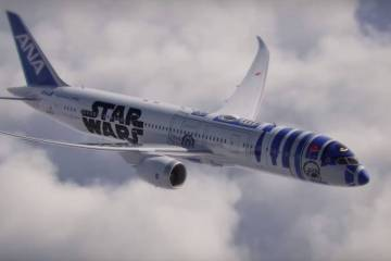 เมื่อ R2D2 กลายเป็นเครื่องบินของจริง! Starwars+ANA ออกสู่โลกแล้ว 6 - Airline