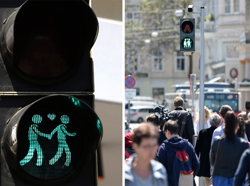 Same-Sex Couples Traffic Light สัญญาณไฟแห่งความรักร่วมเพศ 13 - austria