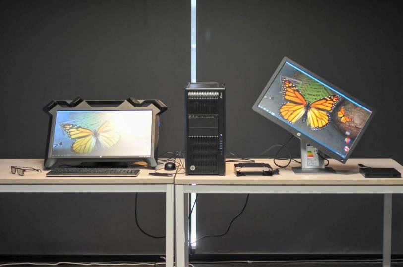 %name HP Zvr เปิดตัวจอคอม 3 มิติ เจาะผู้ใช้งานด้านการออกแบบ การแพทย์ ออกแบบ 3D กลางอากาศ ตัวแรกของโลก