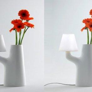 แจกันโคมไฟ...ใช้การสัมผัสดอกไม้ เป็นสวิตช์เปิด-ปิด 20 - Lamp