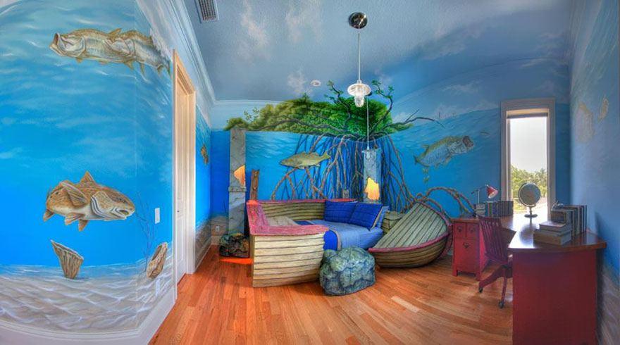 creative children room ideas 16 ห้องเด็กสุดครีเอทีฟ ที่ทำให้คุณอยากกลับไปเป็นเด็กอีกครั้ง