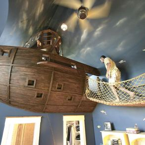 DIY: Wallpaper Еmbroidery ♥ 17 - Cross-stitch