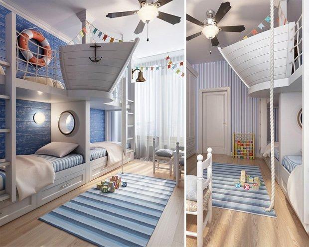creative children room ideas 27 2 ห้องเด็กสุดครีเอทีฟ ที่ทำให้คุณอยากกลับไปเป็นเด็กอีกครั้ง