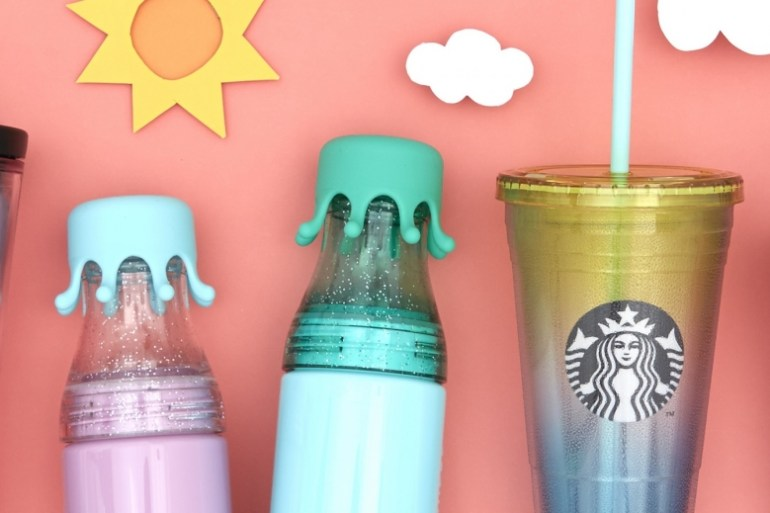 Starbucks Drinkware Collection แก้วสตาร์บัคส์ คอลเลคชั่นใหม่สีสันสดใสซัมเมอร์ 2016 27 - GADGET
