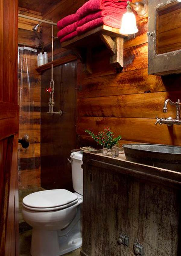 rustic bathroom ideas 25 30 ห้องน้ำที่ไม่ซ้ำบ้านไหนๆ แขกไปใครมาจำได้แน่นอน