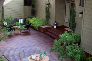 ต่อเติมพื้นที่นอกบ้าน เชื่อมโยงพื้นที่ภายในกับสวน 15 - wood