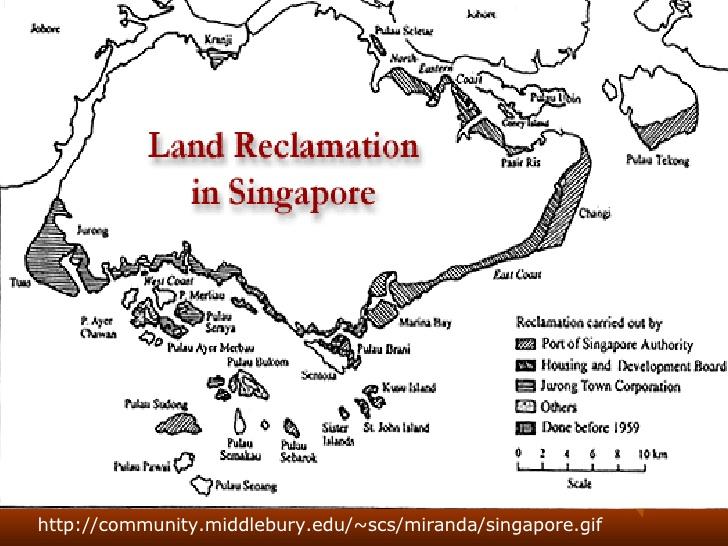 3 land reclamation ppt 2 728 ศาสตร์และศิลป์แห่งความเป็นเมือง @ Singapore City Gallery