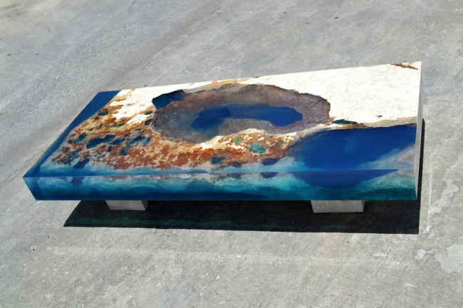 08 2 650x432 เปลี่ยนโต๊ะธรรมดาให้กลายเป็นเกาะ ไอเดียสุดครีเอทที่ทุกคนต้องตะลึง
